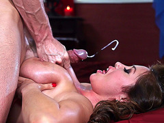 Kianna Dior gets big load on her face