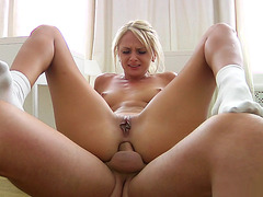 Ivana Sugar riding his rod anal reverse cowgirl style