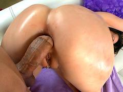 Courtney Cummz getting her rear hole fucked doggy style