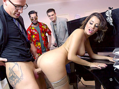 Cara Saint-Germain fucked by her boss doggy style