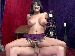 Big tits Cuban tart Luna Star fucked in her fortune telling salon