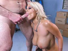 Big tits barbie mom Bridgette B loves dirty oral sex