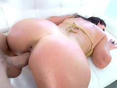 Angela White is putting her sexy body to good use