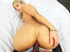 Candice Dare is a big fan of anal sex that is fucked