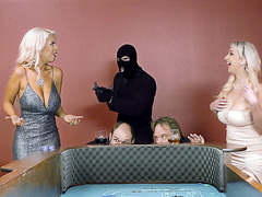 Nina Kayy and Bridgette B have a hot foursome