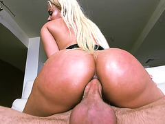 Luna Star gets fucked hard in her wet tight ass