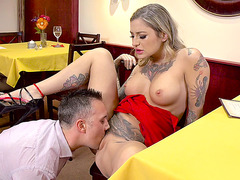 Kleio Valentien is fucked in her wet pussy really hard