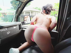 Megan Rain is looikng someone to fuck on the streets
