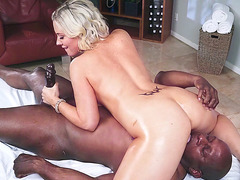 Jessica Ryan is sucking Prince Yashua while he is licking her pussy