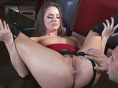 Tori Black getting her asshole and pussy licked