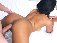 Jenna J Foxx on her fours enjoys getting pounded doggy