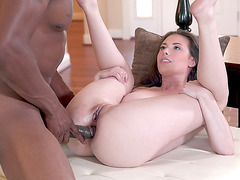 Casey Calvert got her asshole penetrated by the BBC