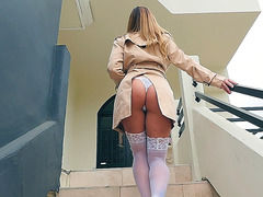 Amazing Teagan Presley goes to Keiran to get fucked