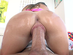 Lilly Ford gets fucked in cowgirl position