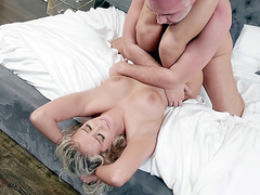 Big titted Athena Palomino enjoys getting pussy plowed