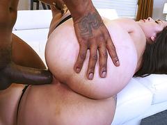 Alycia Starr gets pussy penetrated by big black anaconda