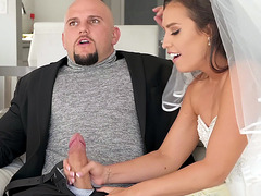Kelsi Monroe is sucking big Jmac's prick