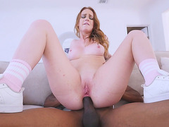 Daisy Stone gets assfucked in reverse cowgirl pose