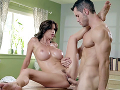 Alexis Fawx gets her trimmed pussy filled with the hard rod
