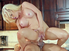 Nikki Delano gets assfucked in reverse cowgirl position