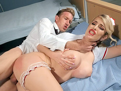 Big titted Marica Chanelle gets her twat drilled