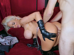 Hot MILF Nicolette Shea gets fucked from behind