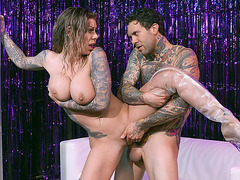 Karma Rx loves getting her pussy nailed by the hard rod
