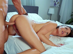 Krissy Lynn gets pussy pounded doggystyle