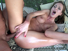 Lithuanian Tina Kay loves getting her ass banged