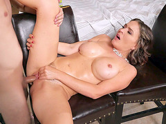 Busty Krissy Lynn loves getting her pussy penetrated