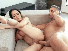 MILF McKenzie Lee gets her shaved twat fucked hard