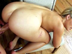 Sexy gal Mia Malkova loves it doggie