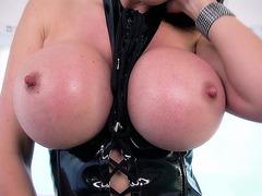 Eva Karera has a pair of massive double Ds