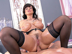 Lisa Ann rode his dick anal cowgirl style