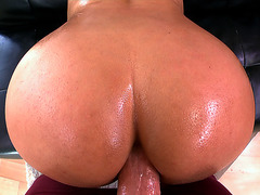 Bridgette B gets her ass fucked doggy POV style