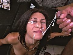 Nadia Valdez receives big facial load