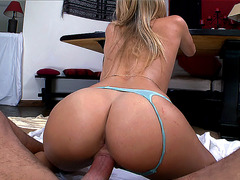 Natalia Starr loves to get fucked by a huge pole