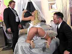 Husband can't wait to finally have sex with his new bride Aaliyah Love
