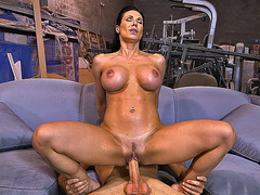 Big boobed mommy Kendra Lust fucks mean dick