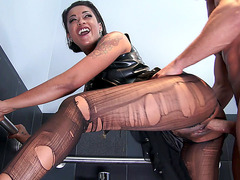 Skin Diamond having dirty sex with her friend's husband