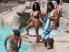 India Summer and Ava Addams decided to fuck one guy
