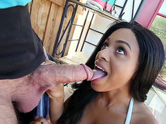 Anya Ivy loves to suck that juicy big dick