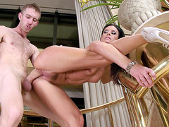 India Summer bends over and takes thick Danny's cock