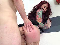 Monique Alexander taking stiff cock in her tight ass
